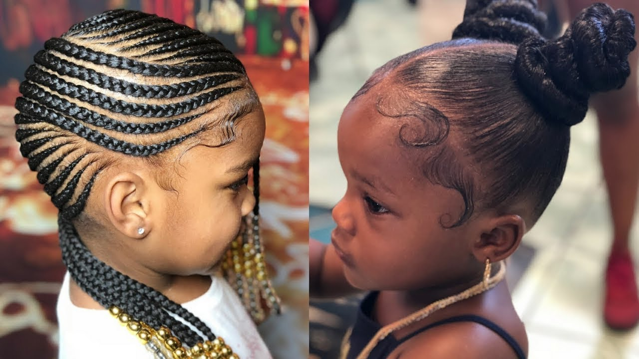 Most Popular Strong Braid Ponytail Hairstyles Pertaining To Amazing Hairstyles For Kids Compilation – Braids, Ponytails & Twists Ideas (View 11 of 20)