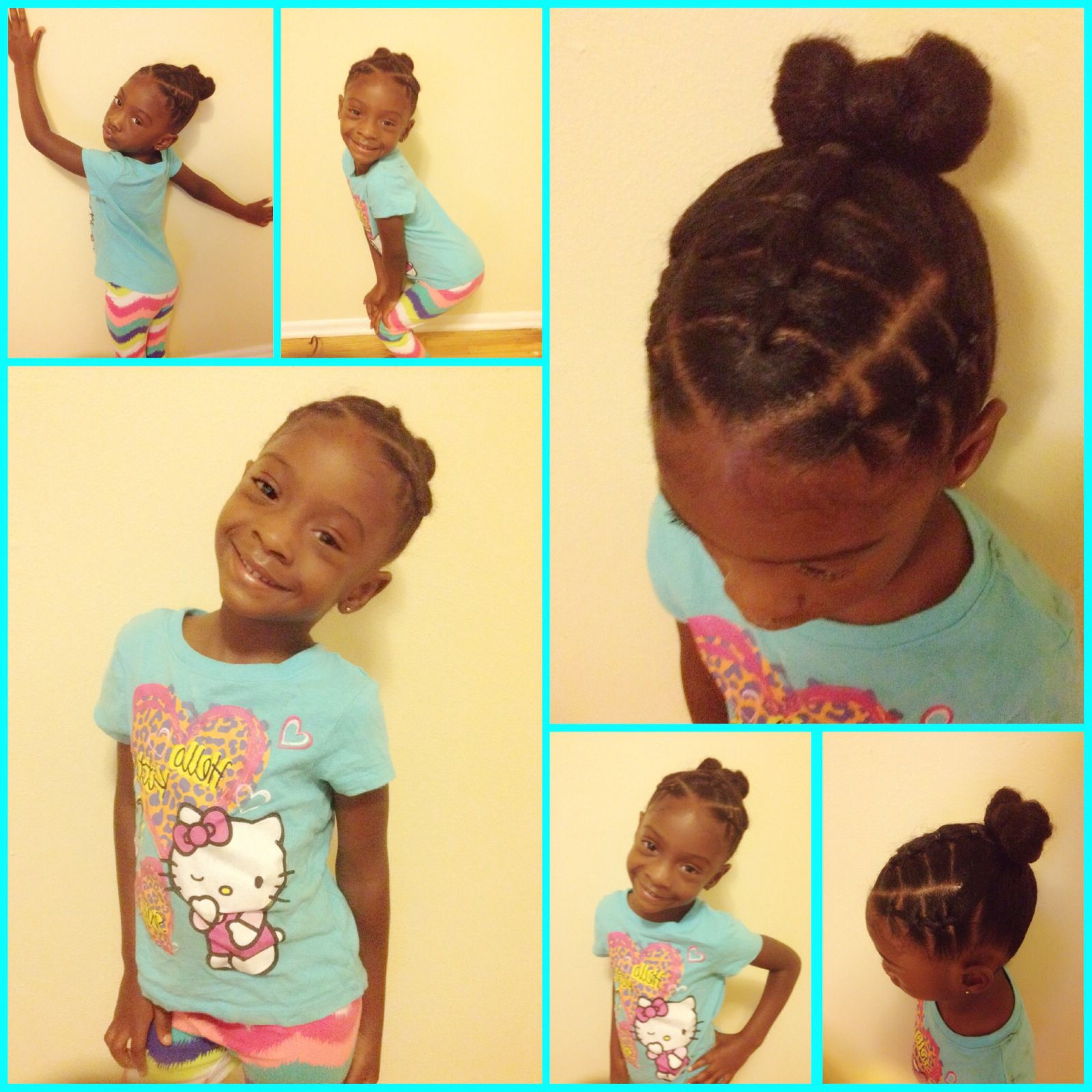 Most Recent Black Bow Ponytail Hairstyles Throughout Cute Toddler Hairstyles / Little Girls Hairstyles / Black Little (View 8 of 20)