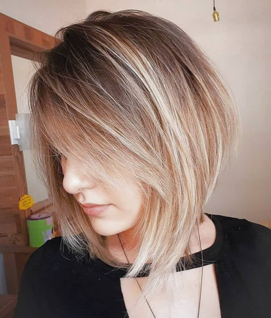Most Recent Piece Y Medium Length Hairstyles Within 10 Trendy Choppy Lob Haircuts For Women, Best Medium Hair Styles (View 9 of 20)