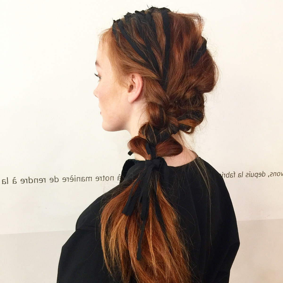 Most Recent Stitched Thread Ponytail Hairstyles With Regard To 37 Cool Ponytail Hairstyles To Try In  (View 16 of 20)