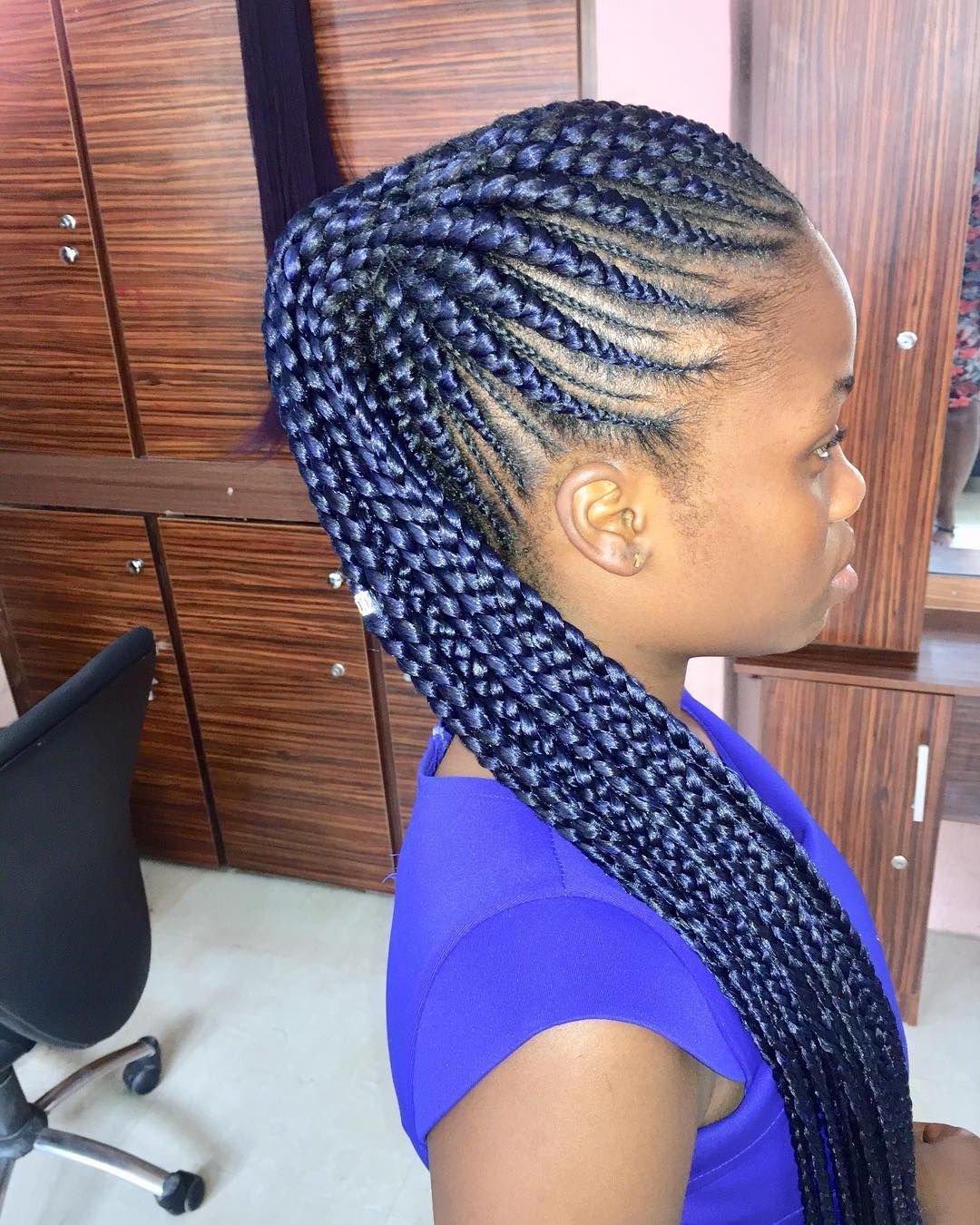Most Recent Stylish Braids Ponytail Hairstyles With Regard To 30 Cute Braided Ponytail Hairstyles For Black Hair That Will Make (View 14 of 20)