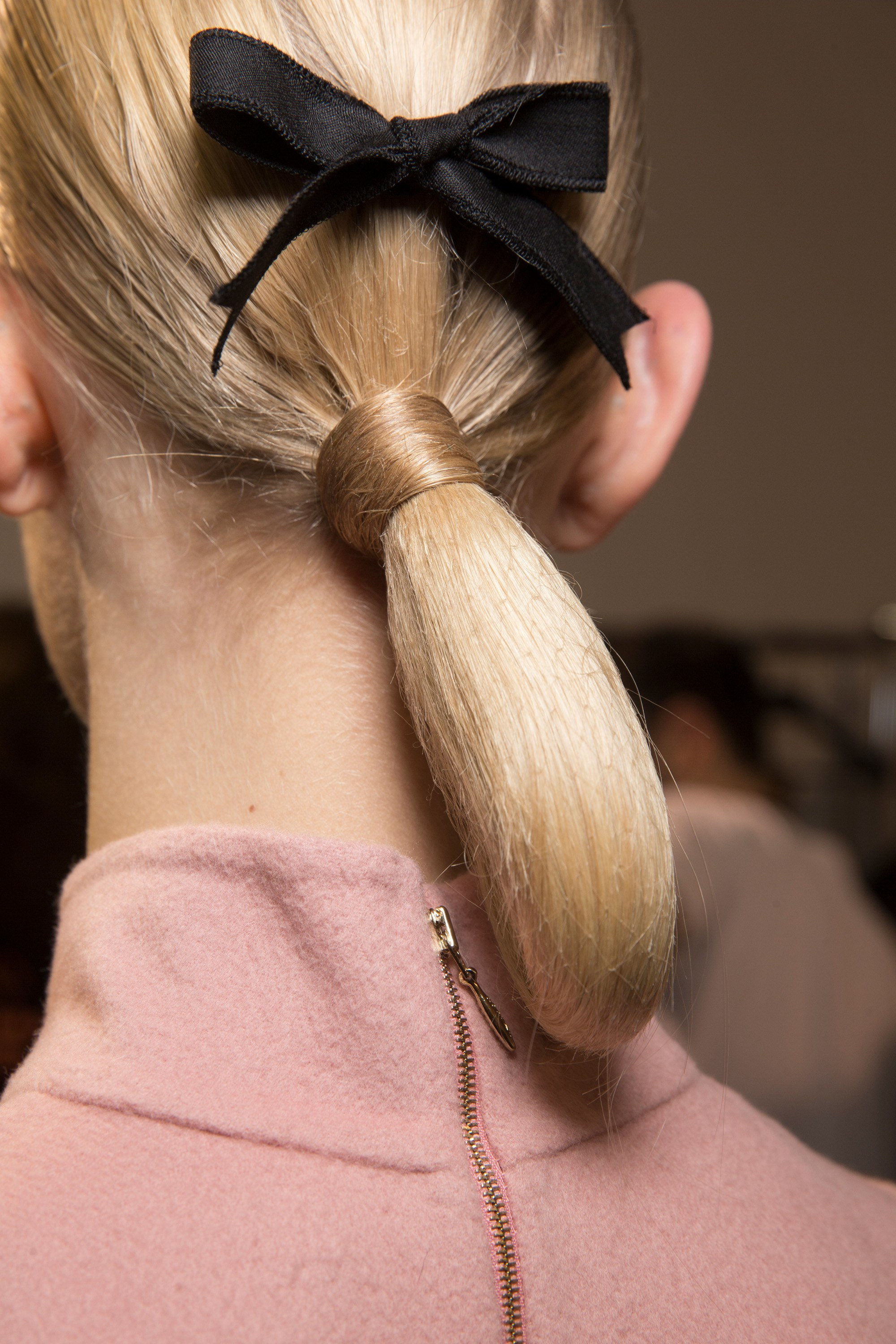 Most Recently Released Black Bow Ponytail Hairstyles Intended For Salon Collage – Hair And Beauty Salon (View 16 of 20)