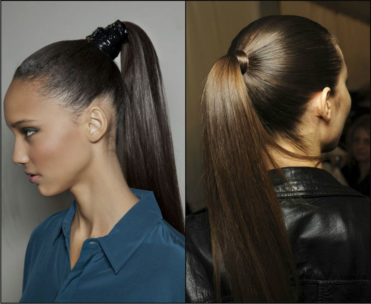 Most Recently Released Strict Ponytail Hairstyles Intended For Strict Office Work Hairstyles 2017 For Business Women // # (View 3 of 20)