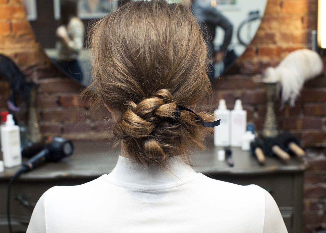 Newest Black Bow Ponytail Hairstyles Inside How To Make Even The Simplest Ponytail Pretty – Coveteur (View 17 of 20)