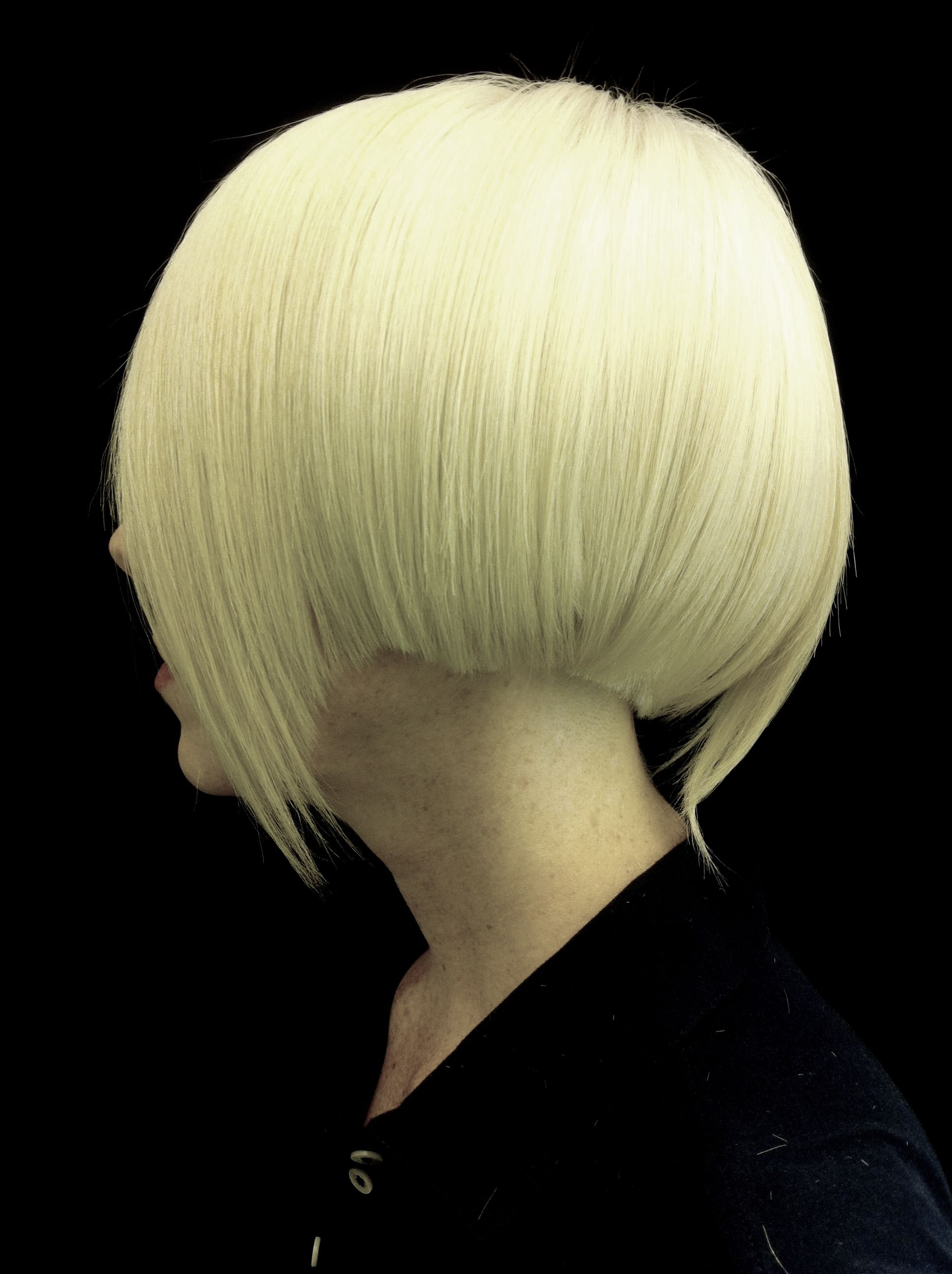 Newest Daring Color And Movement Hairstyles Inside Platinum Blonde. Disconnected Bob. Hair Cut. Hair Color (View 12 of 20)