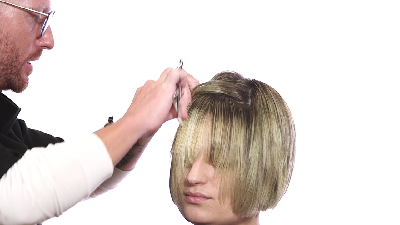 Newest Edgy Bob Hairstyles With Wispy Texture Inside Quick Haircut – Edgy Textured Bob Haircut – Textured Bangs – Thesalonguy (View 5 of 20)
