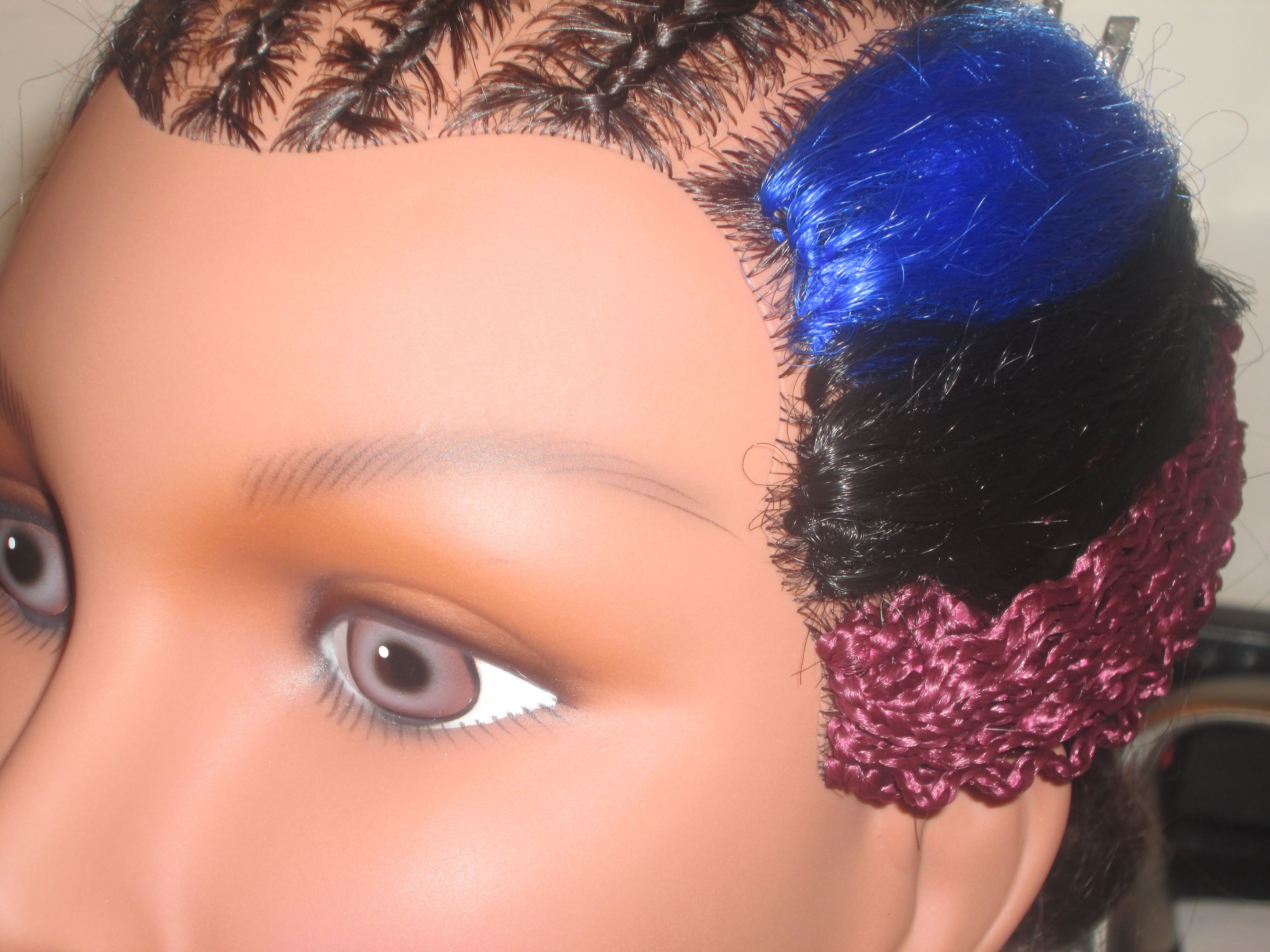 No Hair Left Out – Braided Barbie Lock Stitch Crochet Weave No Throughout Current Stitched Thread Ponytail Hairstyles (View 17 of 20)