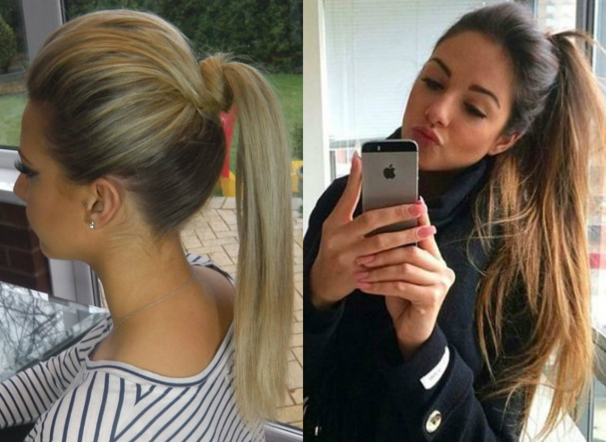 Perfectly Easy Ponytail Hairstyles (View 6 of 20)