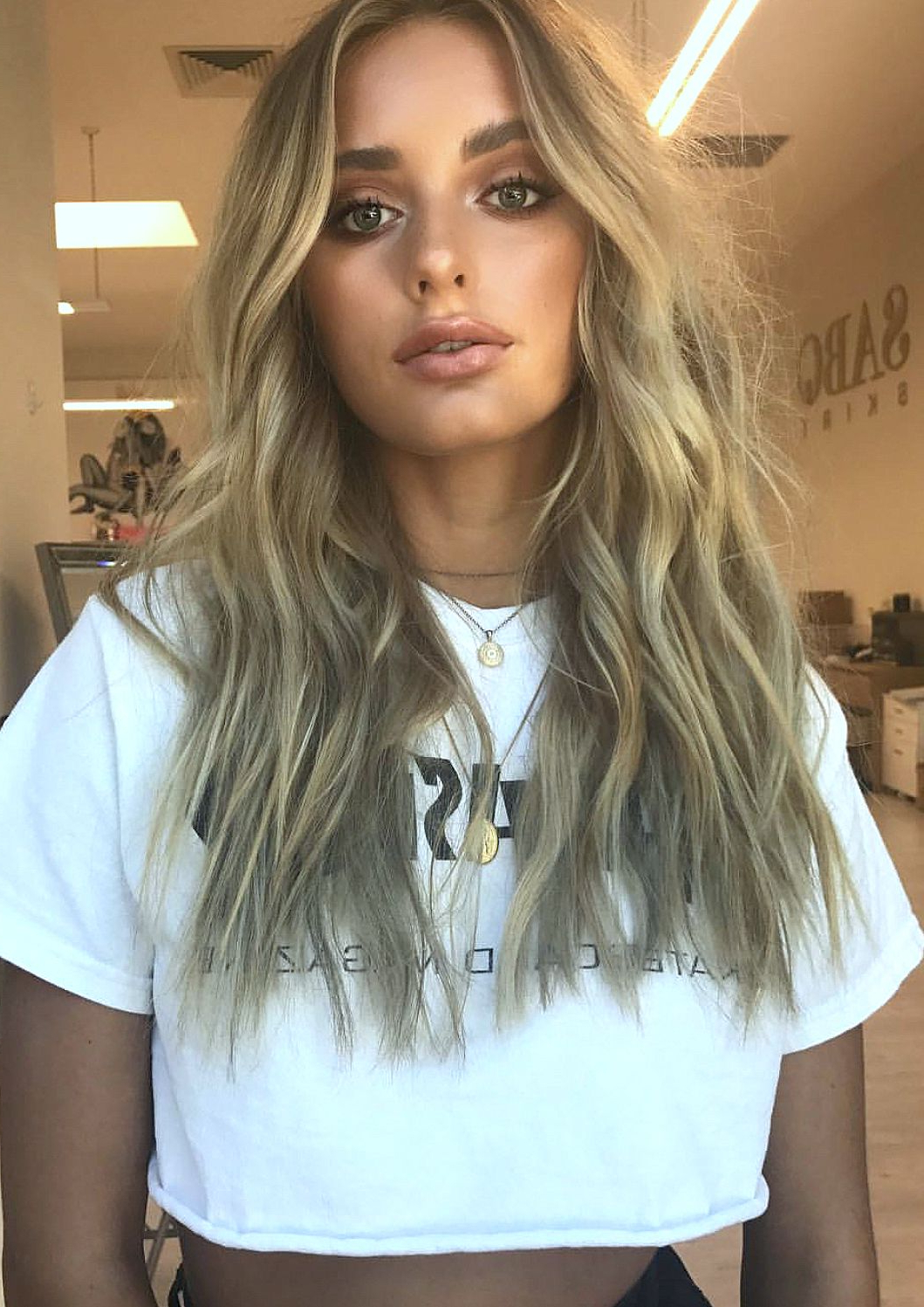 Pinterest: Deborahpraha ♥️ Messy Beachy Waves Hair Style And In Most Current Messy Hairstyles With Beachy Waves (Gallery 6 of 20)