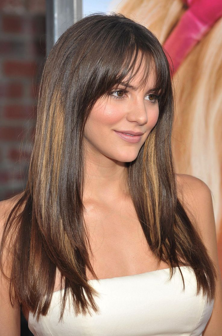 Preferred Best Long Haircuts For Long Face Throughout 13 Flattering Hairstyles For Round Faces In (View 12 of 20)