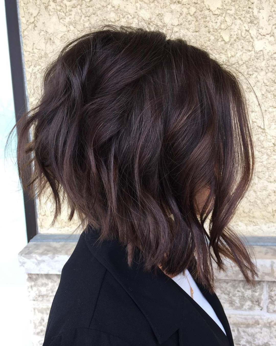 Preferred Edgy Bob Hairstyles With Wispy Texture Throughout Another Glance At This Textured Cropped Bob By: @christinelemoine (Gallery 13 of 20)