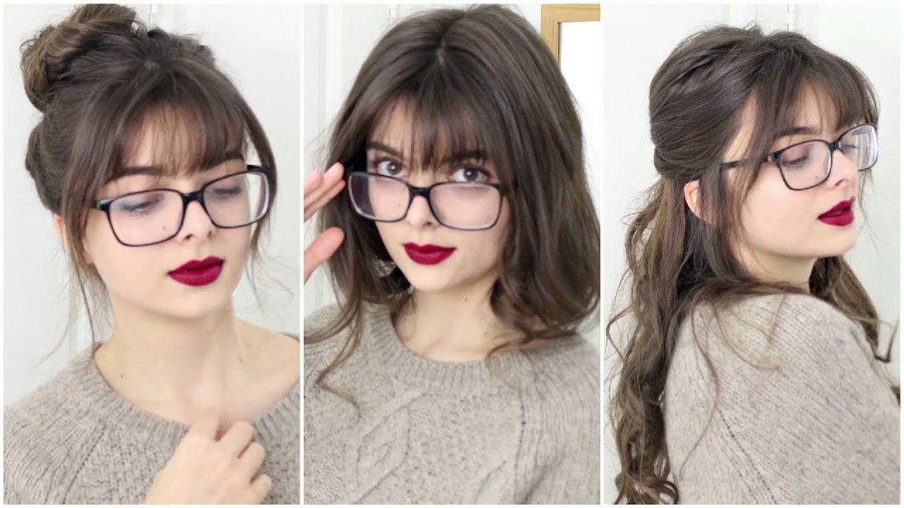 Preferred Long Hair And Blunt Bangs Hairstyles With Regard To Blunt Bangs, Long Hair, And Glasses (View 15 of 20)
