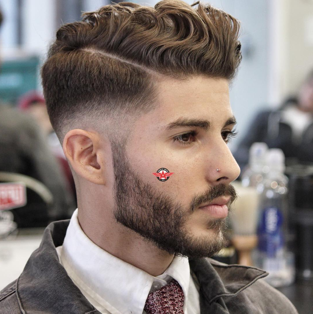 Preferred Wavy Side Part Hairstyles Regarding 21 Cool Men's Haircuts For Wavy Hair (2019 Update) (View 13 of 20)