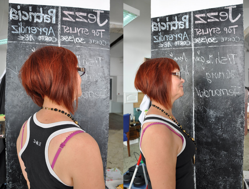 Radical Bob Haircut Red Color (View 20 of 20)