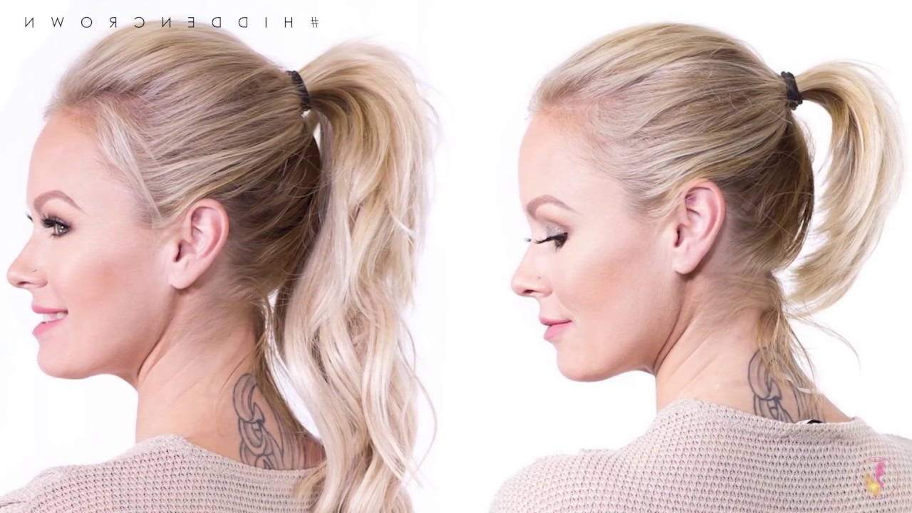 Recent Halo Ponytail Hairstyles For How To: Perfect Ponytail (Gallery 5 of 20)