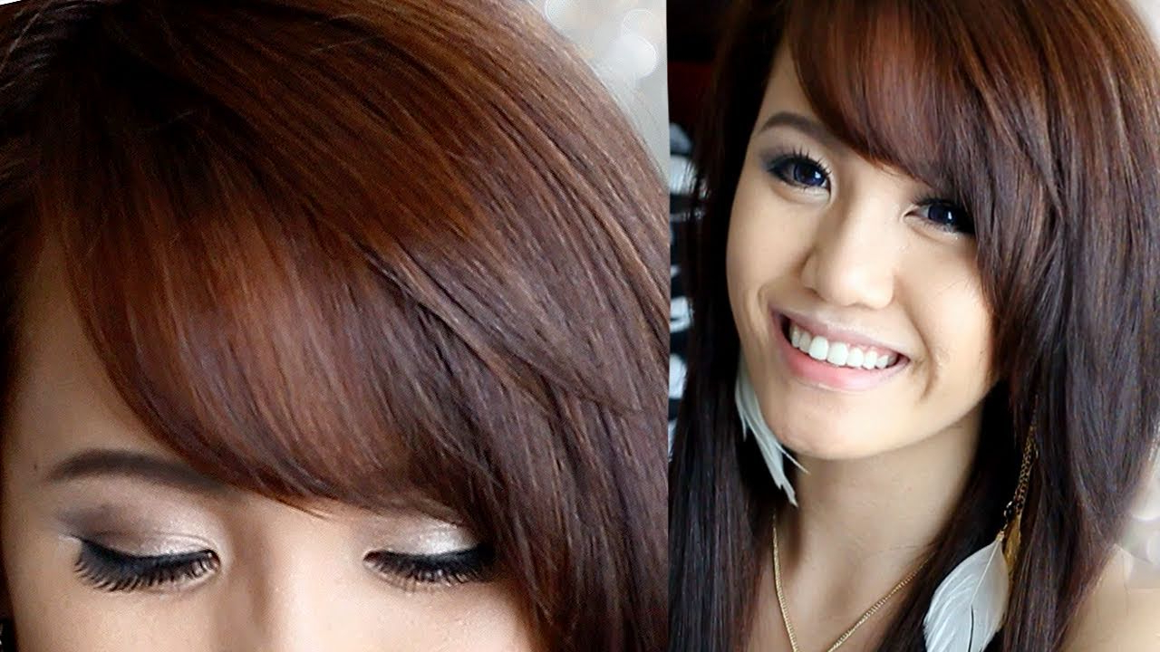 Recent Side Swept Bangs Hairstyles With How To Cut & Style Side Swept Bangs (View 16 of 20)