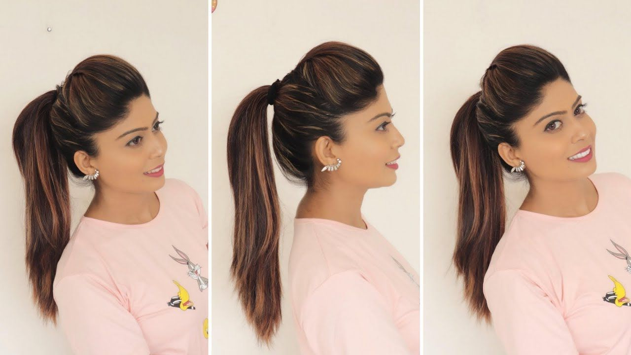 Rinkal In Widely Used Four Pearls Ponytail Hairstyles (Gallery 12 of 20)