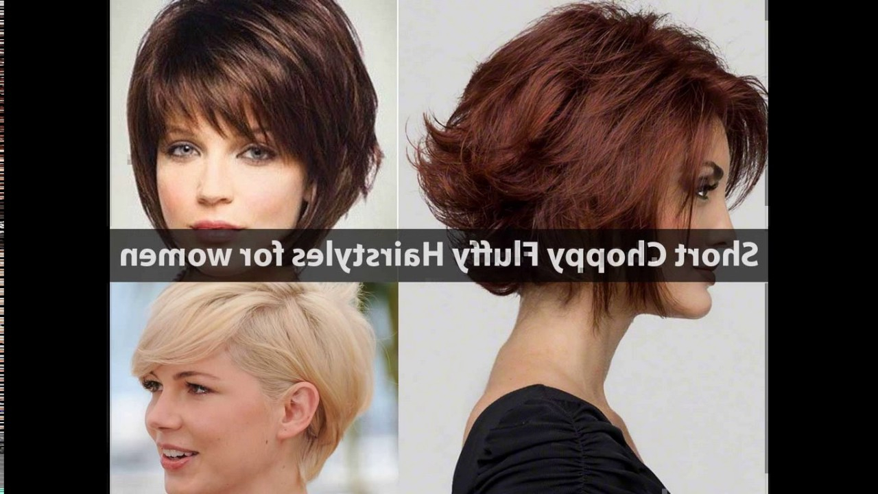 Short Choppy Layered Haircuts For Round Faces Regarding Most Recent Choppy Layers Hairstyles (Gallery 13 of 20)