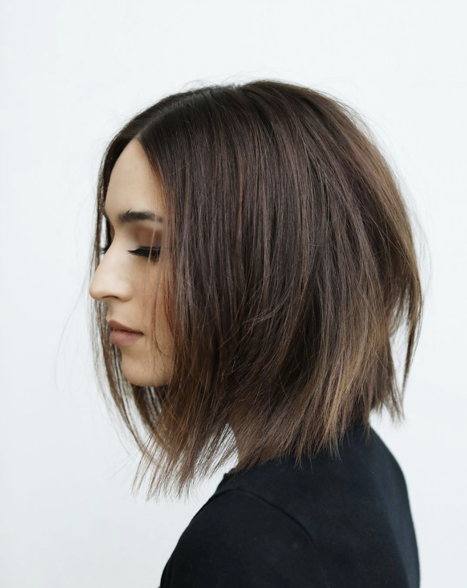Straighthair #movement #softundercut #dysonprohair #anhcotran Throughout 2019 Daring Color And Movement Hairstyles (View 16 of 20)