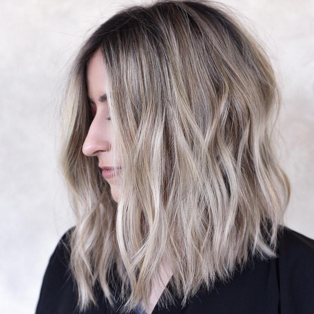 Stylish Shoulder Length Haircuts, Women Medium Hairstyles For Thick For Well Liked Medium Hairstyles With Sliced Layers (View 5 of 20)