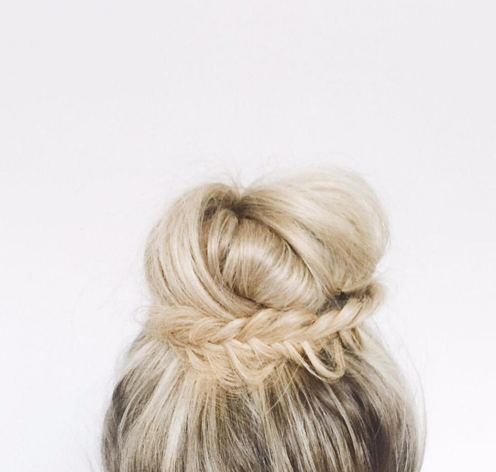 The Halo Couture Ponytail Adds So Many Alternatives To A Messy Bun In Most Recent Halo Ponytail Hairstyles (View 14 of 20)