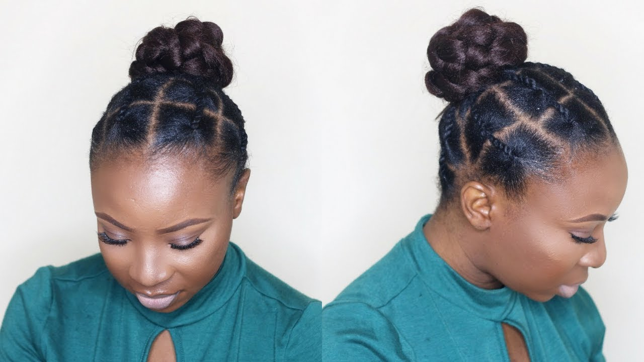 Tondie Phophi Intended For Fashionable Threaded Ponytail Hairstyles (Gallery 3 of 20)