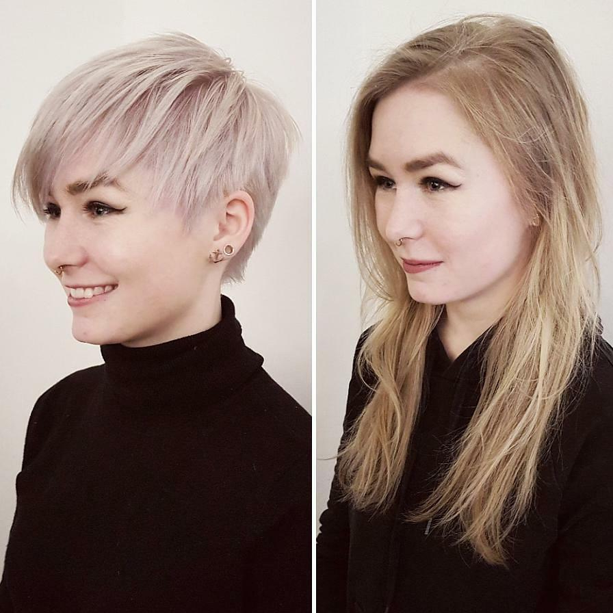 Trendy Daring Color And Movement Hairstyles Regarding 10 Daring Pixie Haircuts For Women, Short Hairstyle And Color (View 17 of 20)
