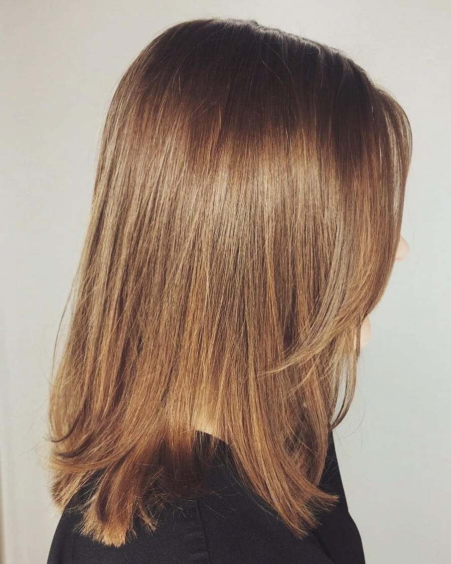 Trendy Medium Haircuts With Soft Layers Regarding 51 Stunning Medium Length Layered Haircuts & Hairstyles For 2019 (Gallery 1 of 20)
