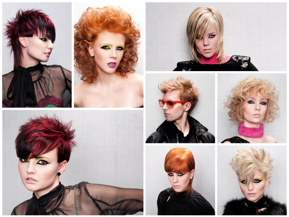 Trendy Textures And Colors For Current Daring Color And Movement Hairstyles (Gallery 18 of 20)