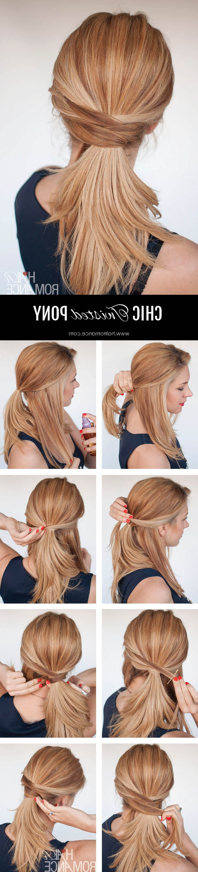 Well Known Chic Ponytail Hairstyles Ponytail Hairstyles For 3 Chic Ponytail Tutorials To Lift Your Everyday Hair Game – Hair Romance (View 9 of 20)