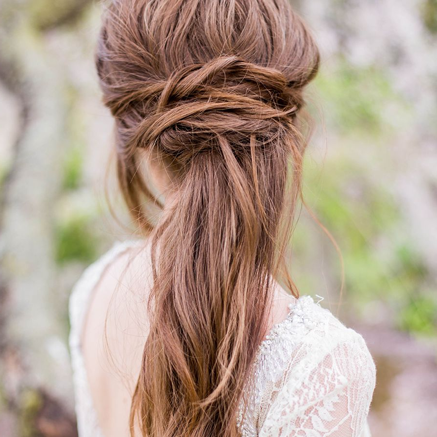 Well Known Flowy Goddess Hairstyles Throughout 27 Gorgeous Half Up Half Down Wedding Hairstyles (Gallery 16 of 20)