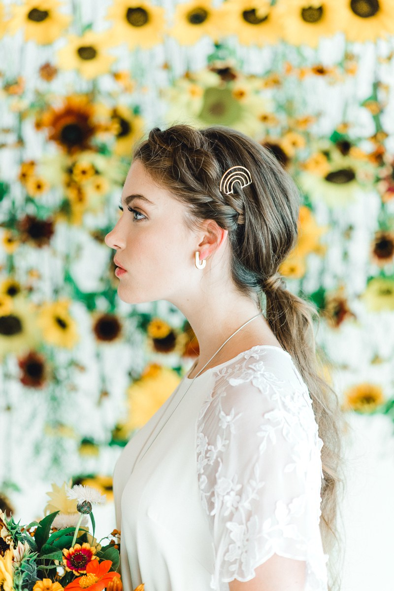 Well Known Halo Ponytail Hairstyles For Picture Of The First Wedding Hairstyle Was With A Braided Halo And A (View 17 of 20)