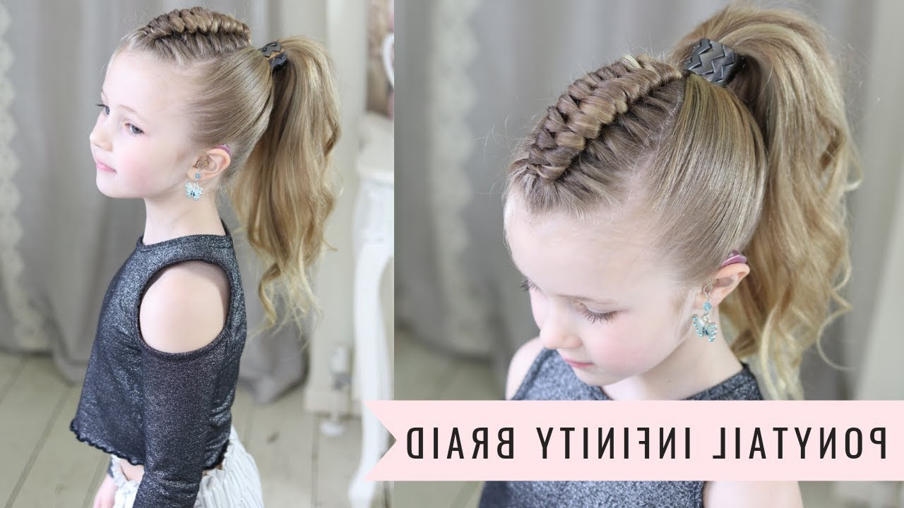 Featured Photo of Infinity Braid Ponytail Hairstyles