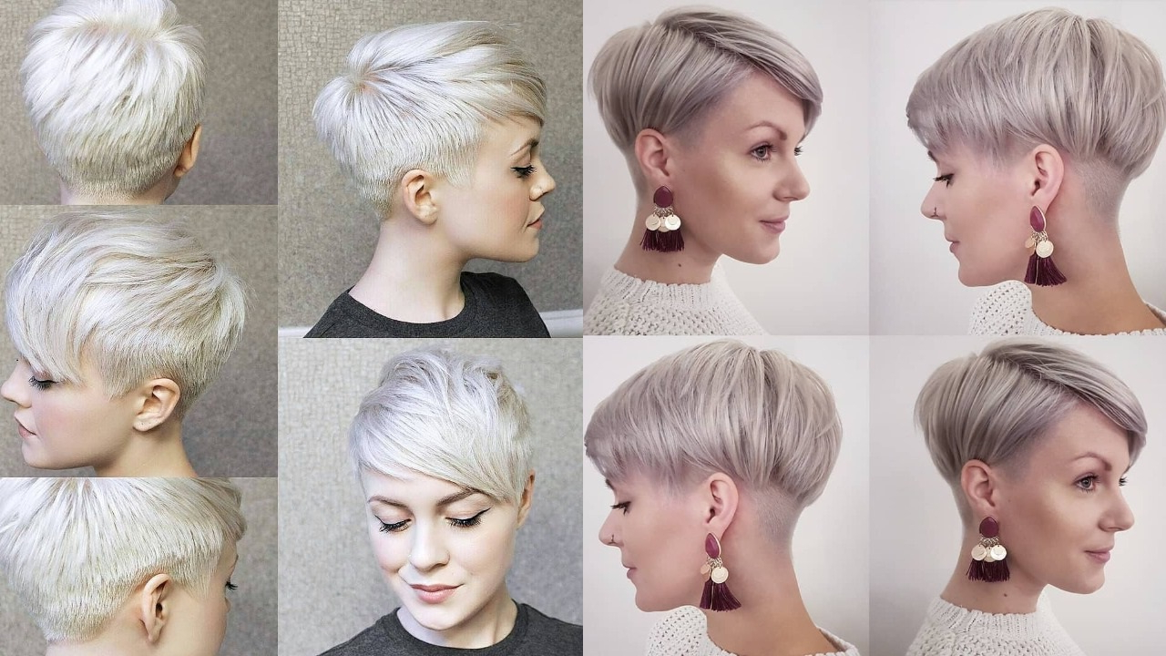 Well Known Sleek Pixie Hairstyles With 25 Most Cutest Pixie Cut Short Hairstyles – Haircuts & Hairstyles 2019 (Gallery 13 of 20)