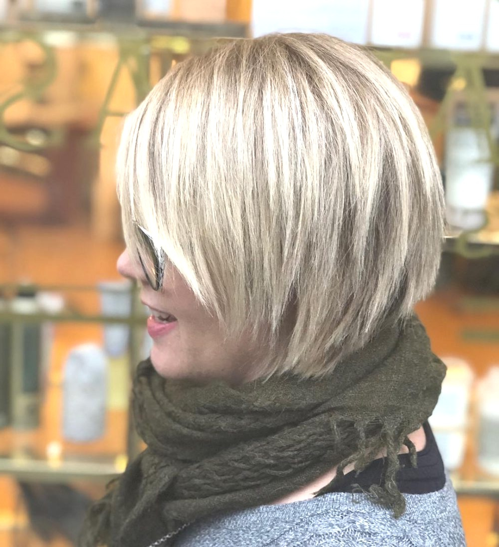 Well Liked Asymmetrical Choppy Lob Hairstyles Regarding Hairstyles : Asymmetrical Choppy Bob Cute 45 Chic Hairstyles For (View 12 of 20)