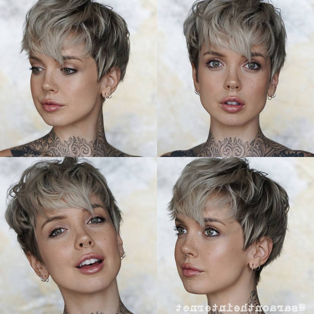 Well Liked Daring Color And Movement Hairstyles For 10 Daring Pixie Haircuts For Women, Short Hairstyle And Color 2019 (Gallery 8 of 20)