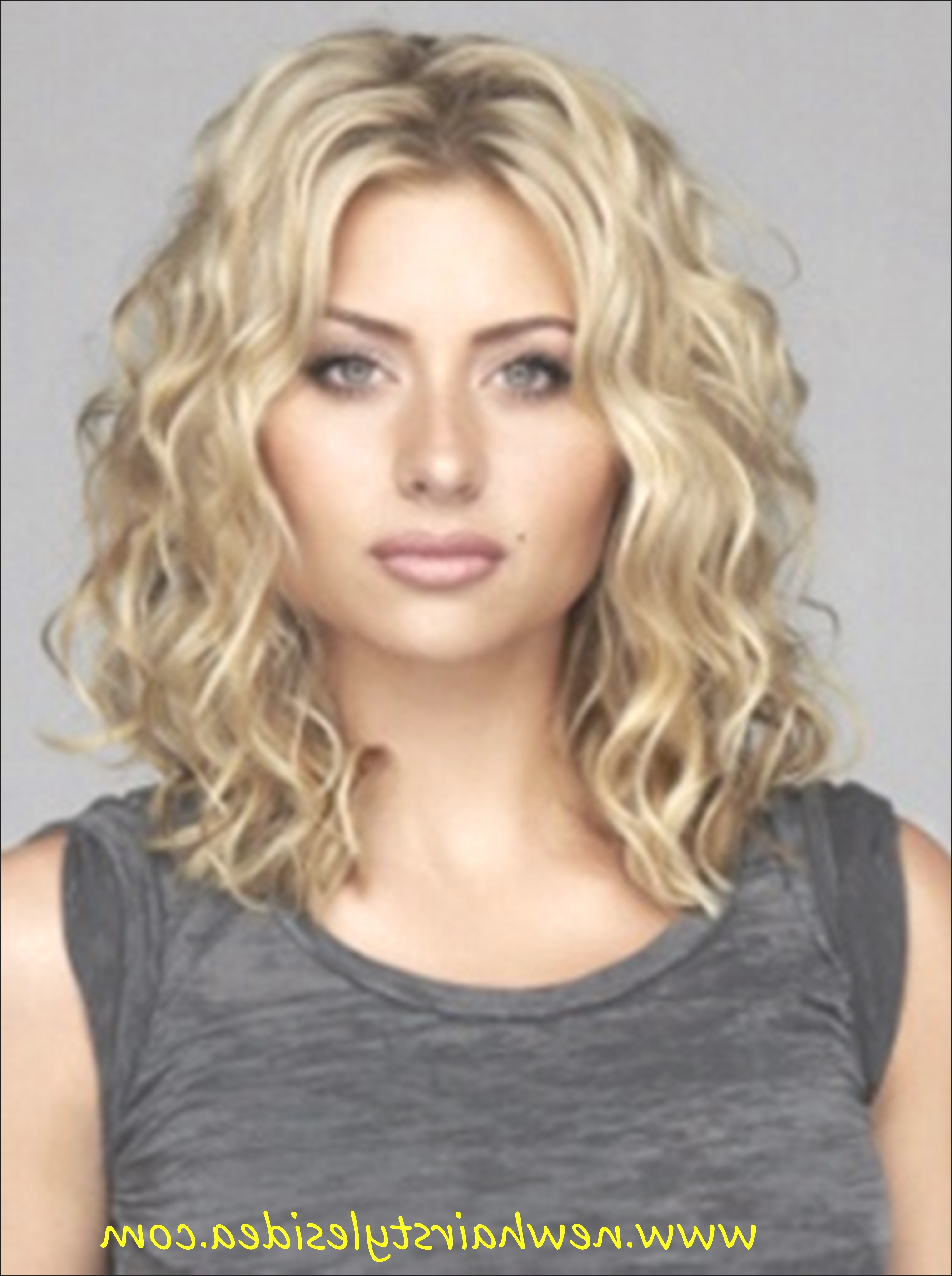 Well Liked Glamorous Medium Haircuts Regarding Hairstyles : Haircuts For Medium Curly Hair Outstanding 20 Glamorous (Gallery 10 of 20)