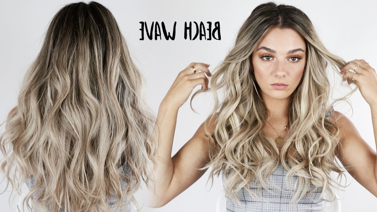 Well Liked Perfect Loose Waves Hairstyles For Long Faces Intended For Aveda How To (Gallery 8 of 20)