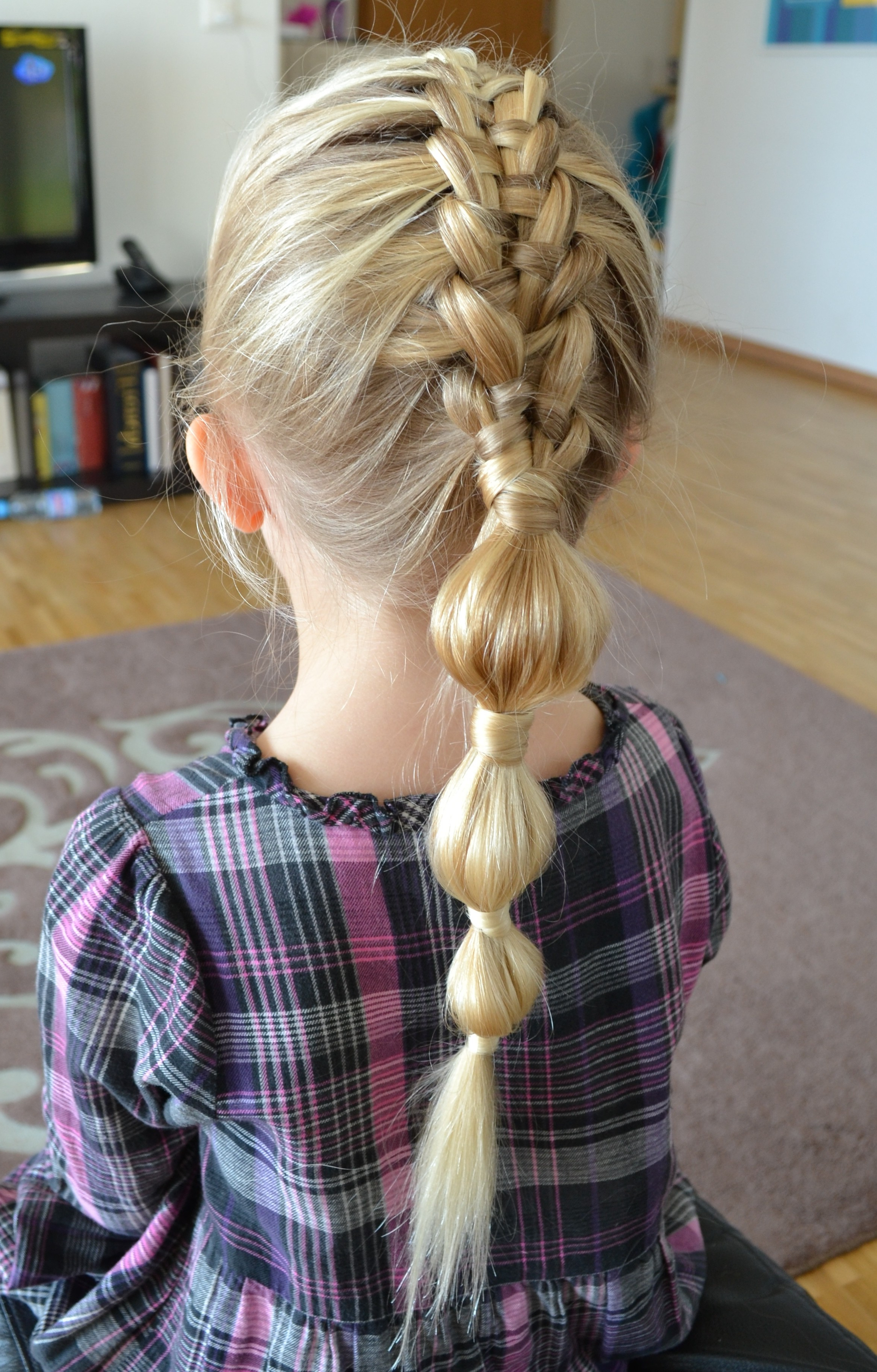 Widely Used Braided Bubble Ponytail Hairstyles For Ponytails (View 19 of 20)