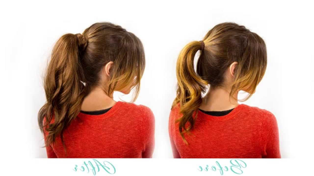 Widely Used Halo Ponytail Hairstyles Regarding Introducing The Ponytail (View 7 of 20)