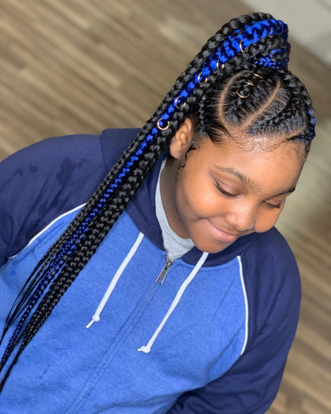 Widely Used Stylish Braids Ponytail Hairstyles With 30 Cute Braided Ponytail Hairstyles For Black Hair That Will Make (View 3 of 20)