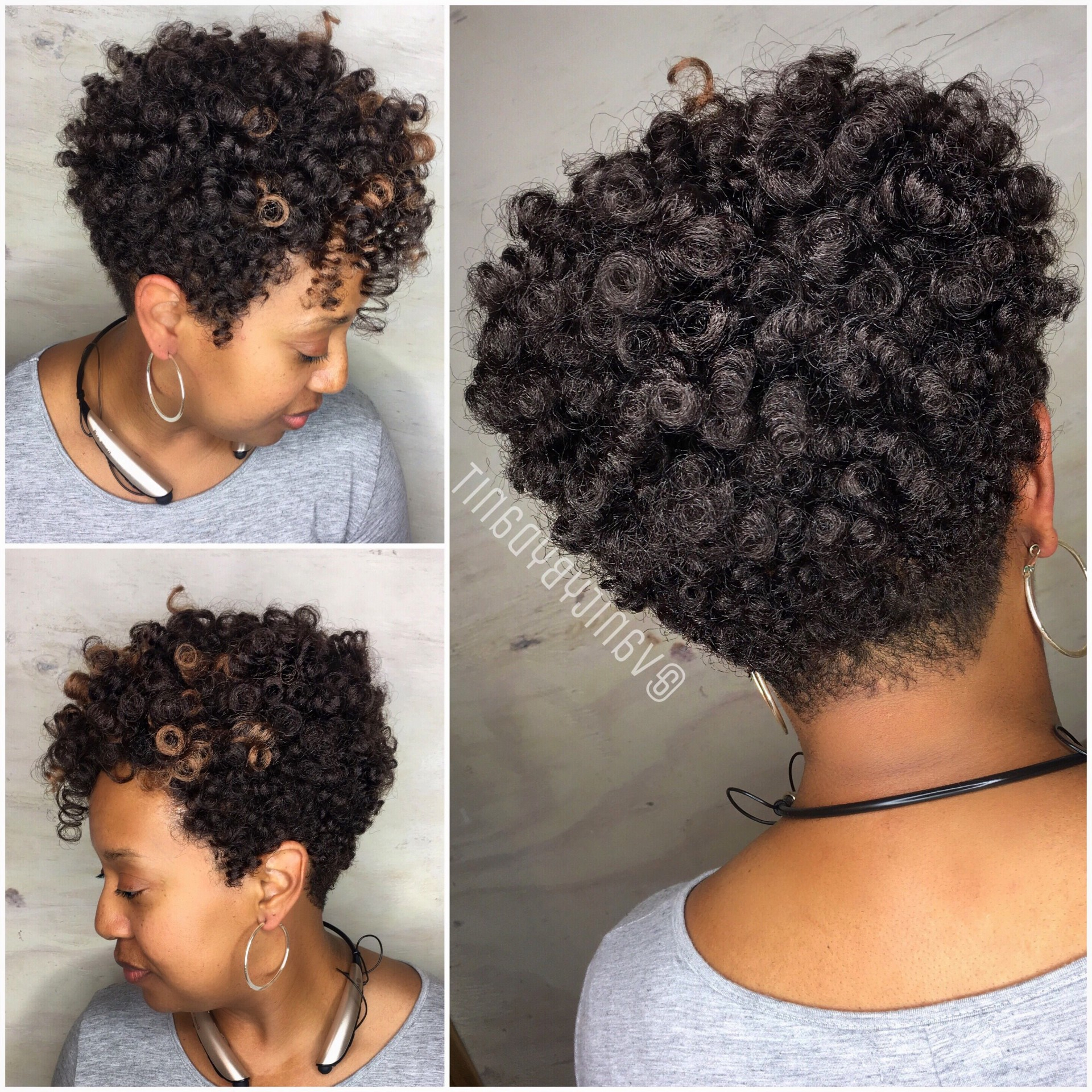 002 Short Crochet Braids Phenomenal Hairstyles Images Of Throughout Most Up To Date Short Stacked Bob Micro Braids (View 1 of 20)