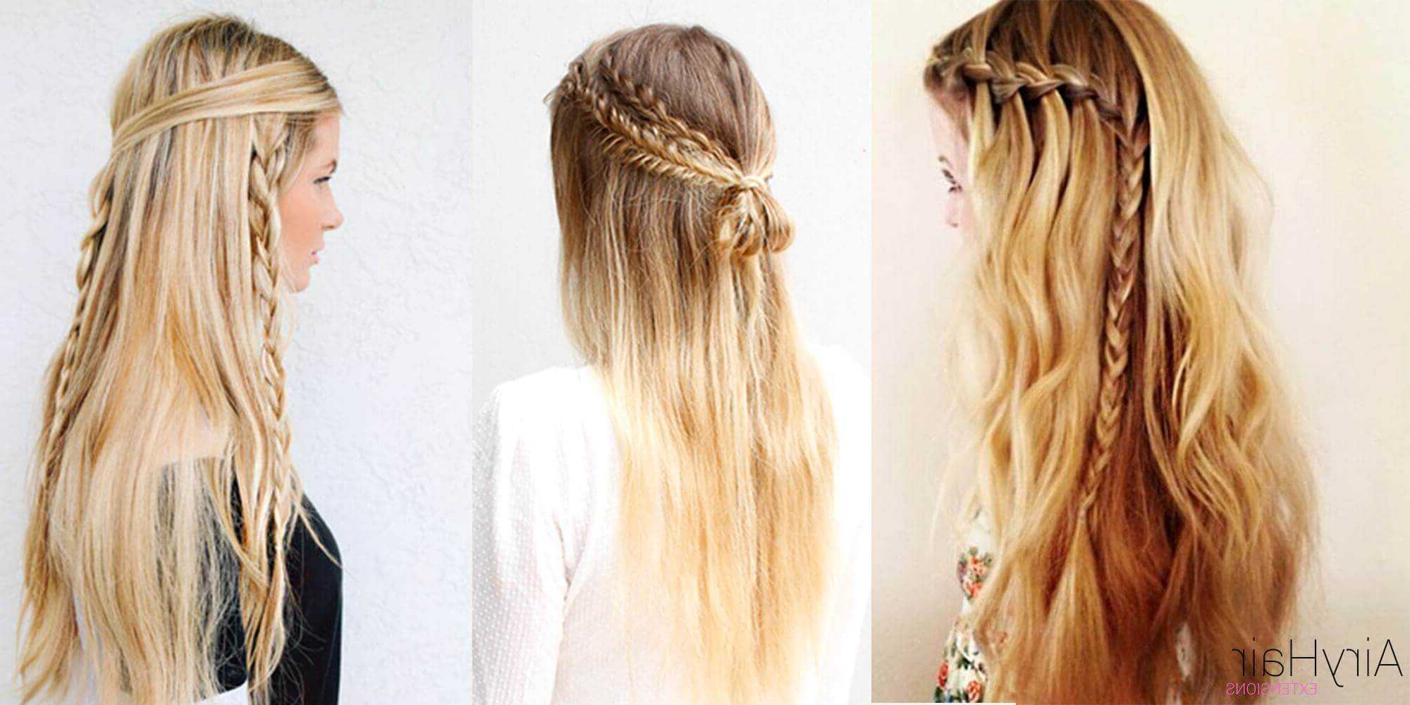 10 Best Chic And Creative Boho Hairstyles Intended For Most Recent Chic Bohemian Braid Hairstyles (View 2 of 20)