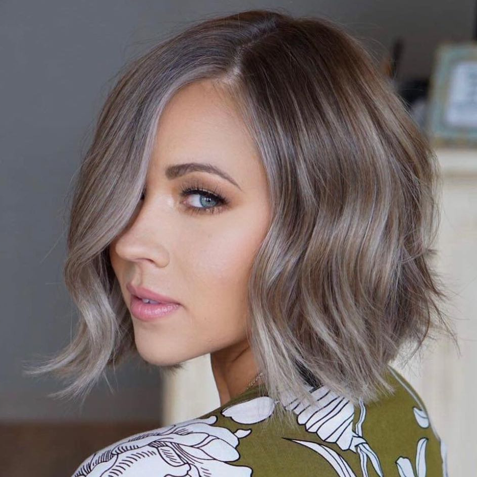 10 Easy Wavy Bob Hairstyles With Balayage – 2019 Female In Preferred Wavy Bob Hairstyles With Twists (View 13 of 20)