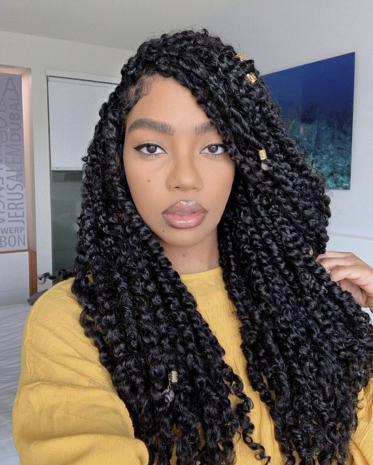 10 Passion Twist Styles To Rock Right Now – Essence Intended For Most Popular Purple Passion Chunky Braided Hairstyles (View 12 of 20)
