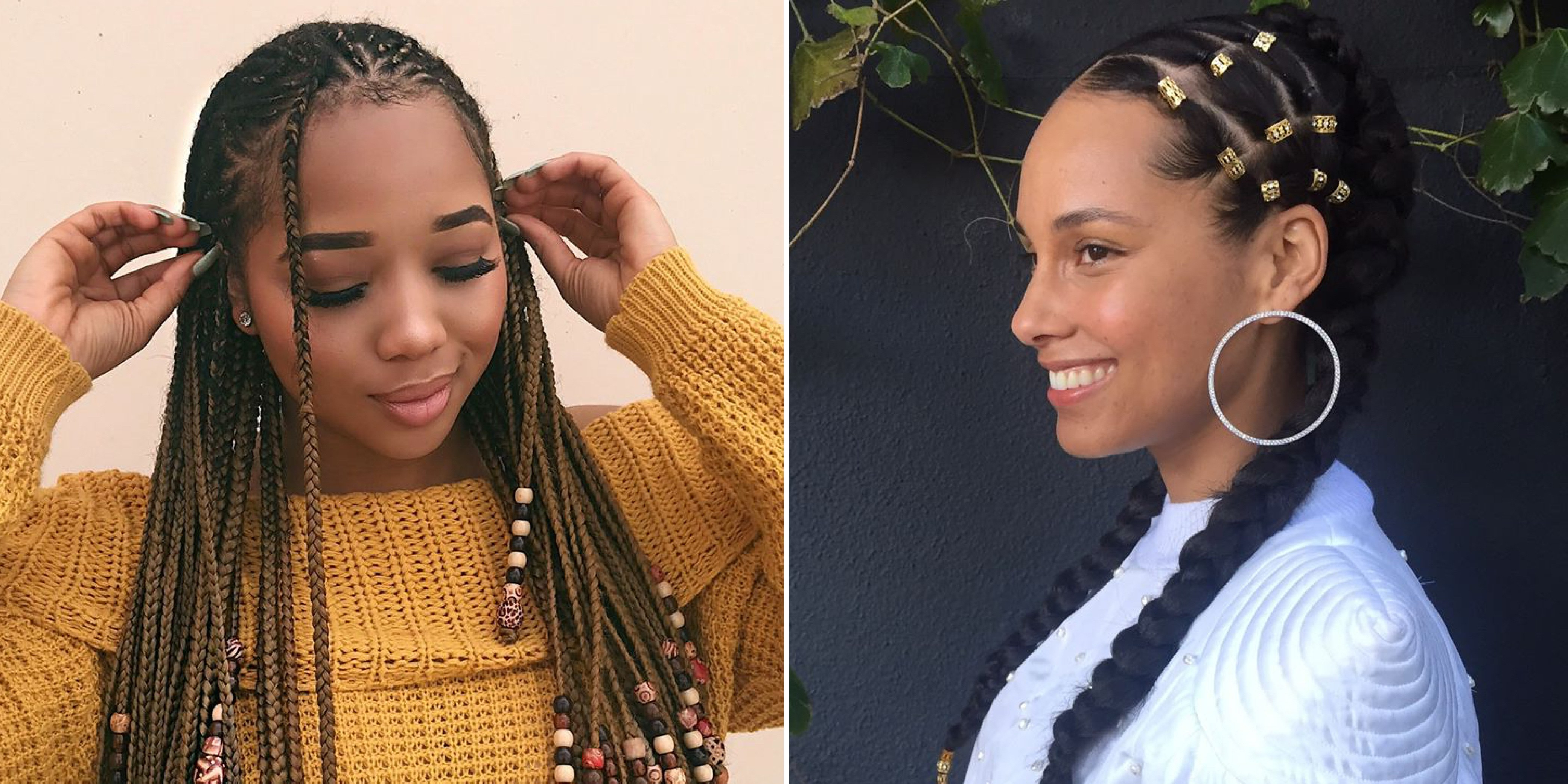 12 Gorgeous Braided Hairstyles With Beads From Instagram Intended For Trendy Beaded Bangs Braided Hairstyles (Gallery 2 of 20)