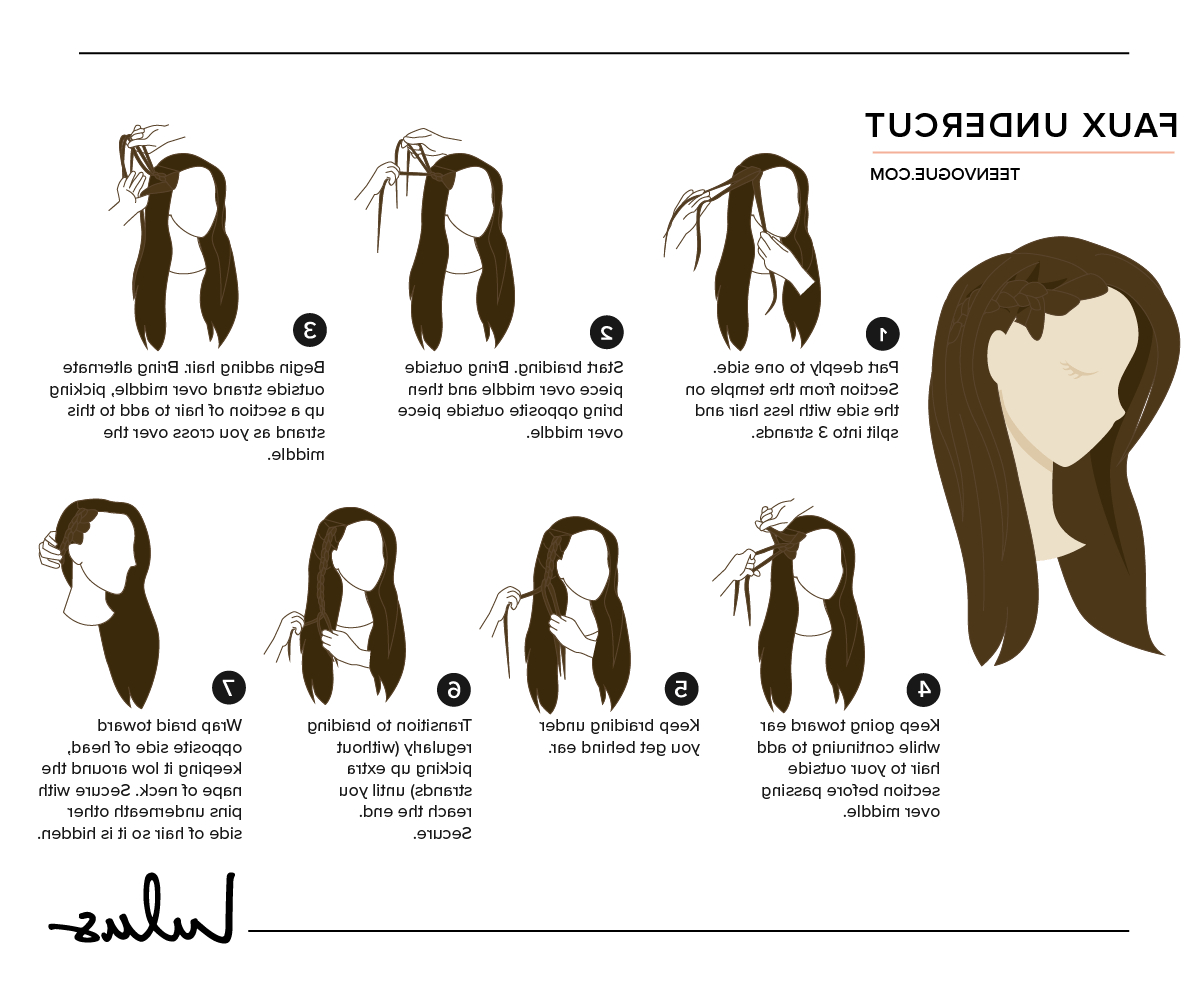 13 Diy Braids And Braided Hairstyles – Lulus Fashion Blog Pertaining To Favorite Faux Undercut Braided Hairstyles (View 14 of 20)