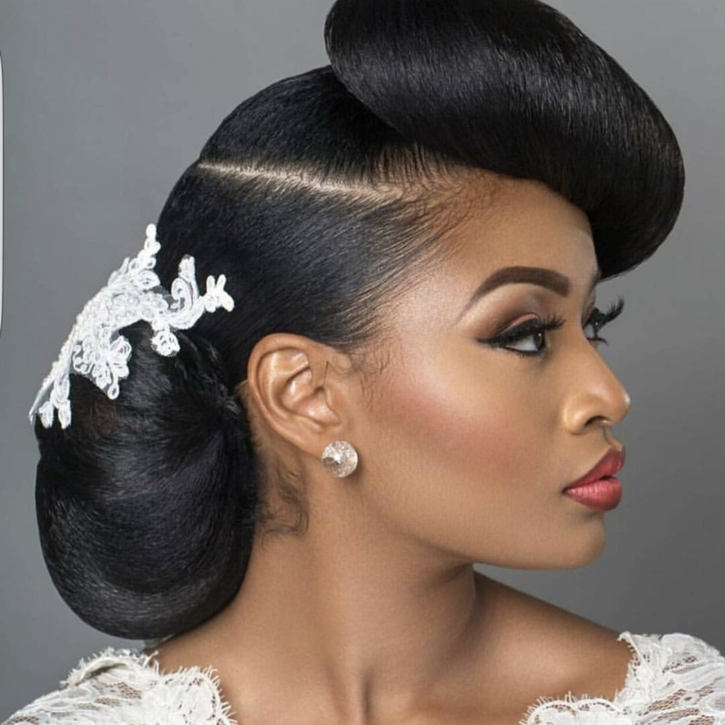 13 Natural Hairstyles For Your Wedding Day Slay – Essence In Newest Naturally Textured Updo Hairstyles (Gallery 13 of 20)