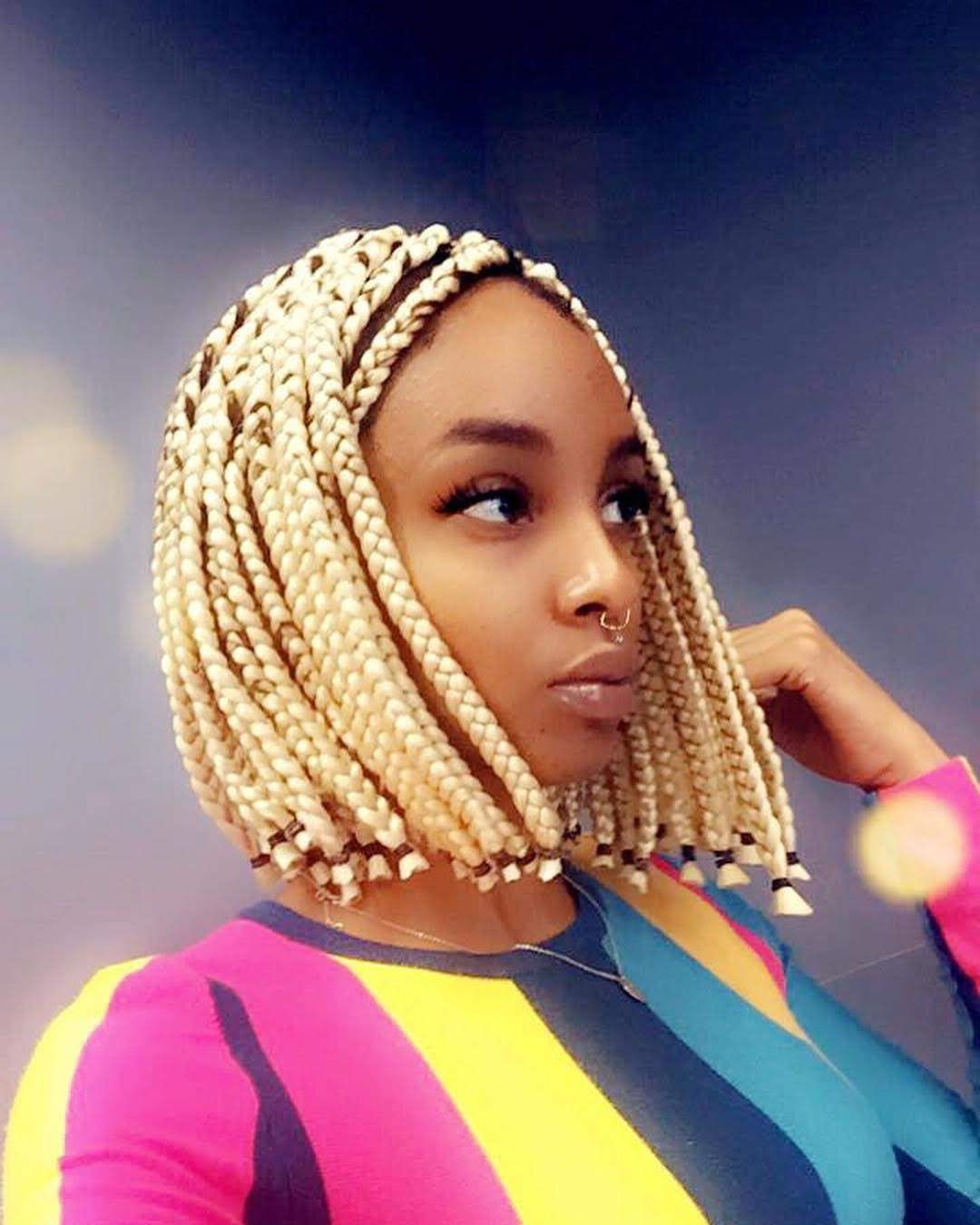 15 Black Braided Hairstyle Tutorials For 2019 ~ Hair Tutorials Pertaining To 2020 Bob Braid Hairstyles With Bangs (View 17 of 20)