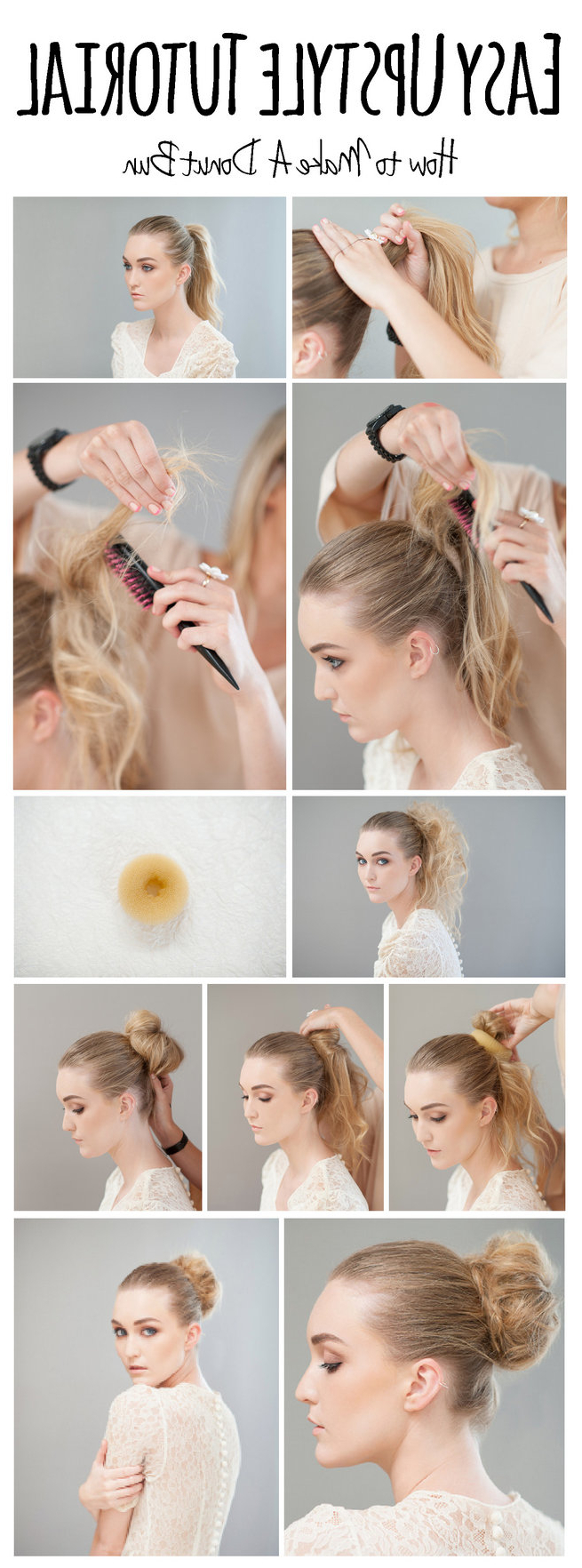 16 Easy Bun Hairstyles To Try (tending In 2019) Within Most Recent Double Mini Buns Updo Hairstyles (View 13 of 20)